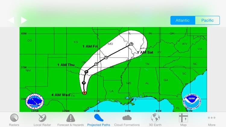 Hurricane Track+ Storm Tracker screenshot-3