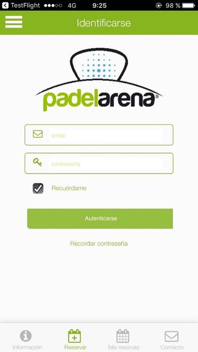 Padel Arena Valladolid screenshot 1