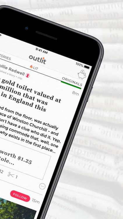 Outlit - Read, Publish, Earn