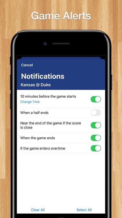 Scores App: College Basketball screenshot-4
