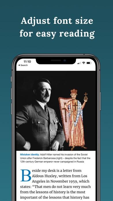 BBC History Magazine Screenshot