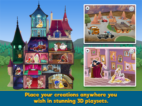 Disney Coloring World screenshot 8