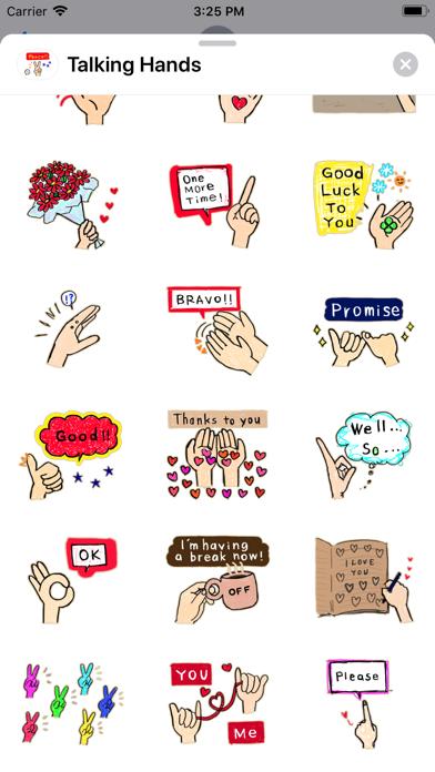 Talking - Hands screenshot 3