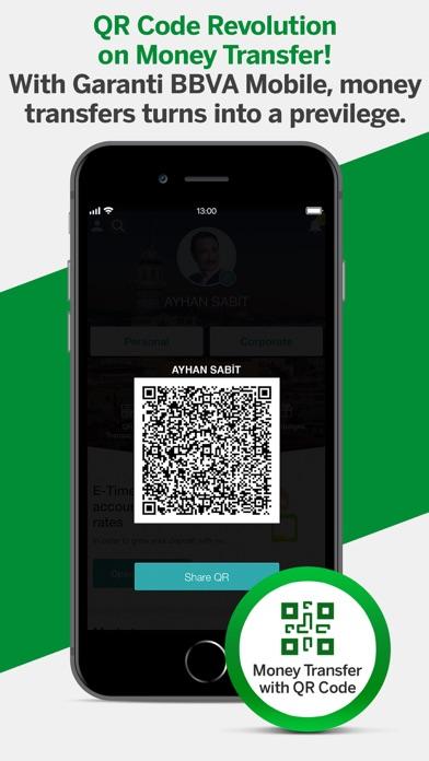 Garanti BBVA Mobile ekran görüntüsü