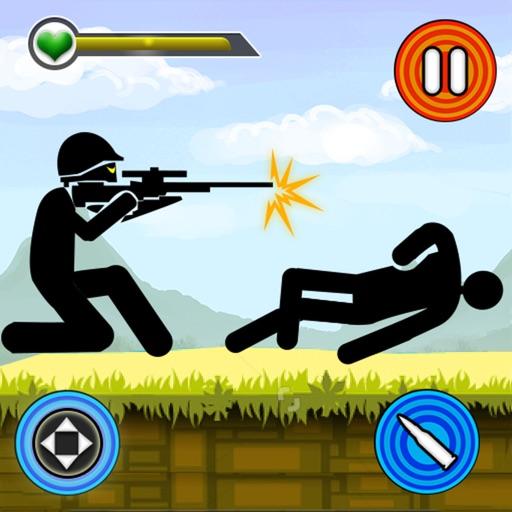 Stickman Shotgun Shooting 2d