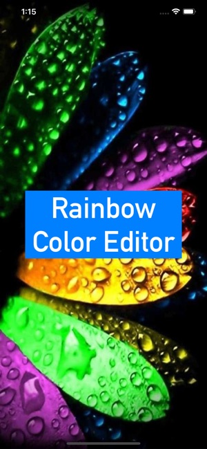 Rainbow Color Editor on the App Store