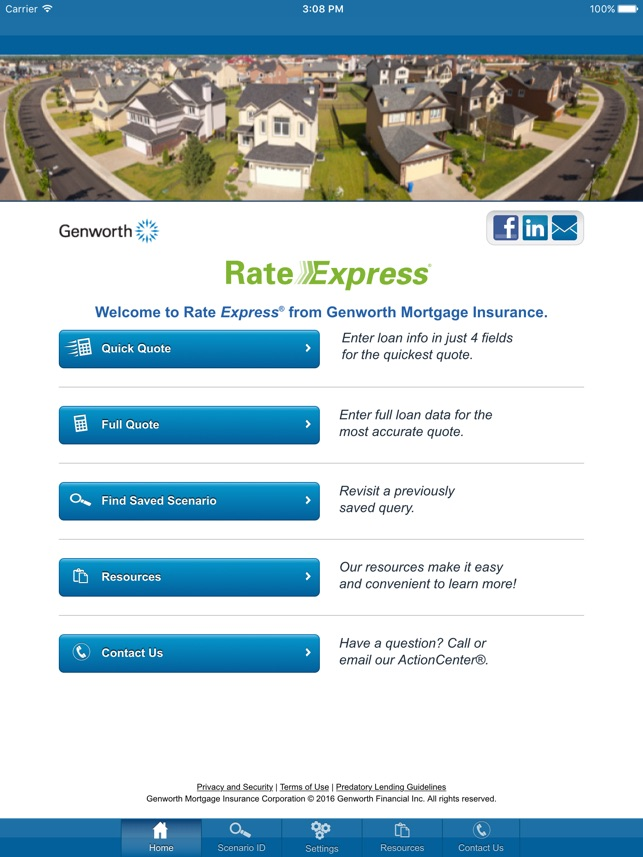 Genworth Mortgage Insurance on the App Store