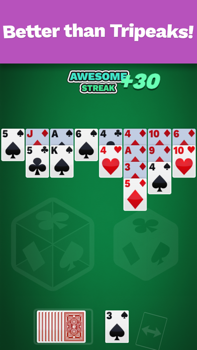 Golf Solitaire Cube screenshot 2