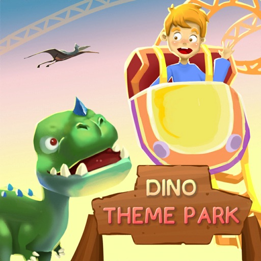 Idle Dino Theme Park icon