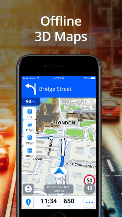 Sygic GPS Navigation & Maps by Sygic a  s  (iOS, United States