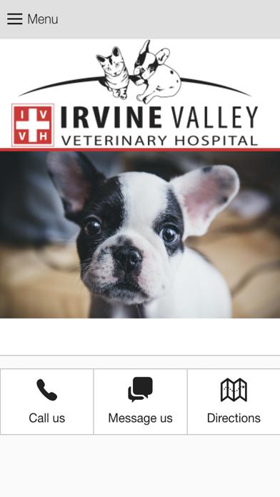 IrvineValleyVet screenshot one