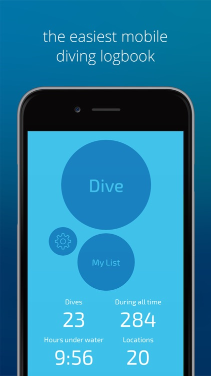 Dive Number-scuba logbook