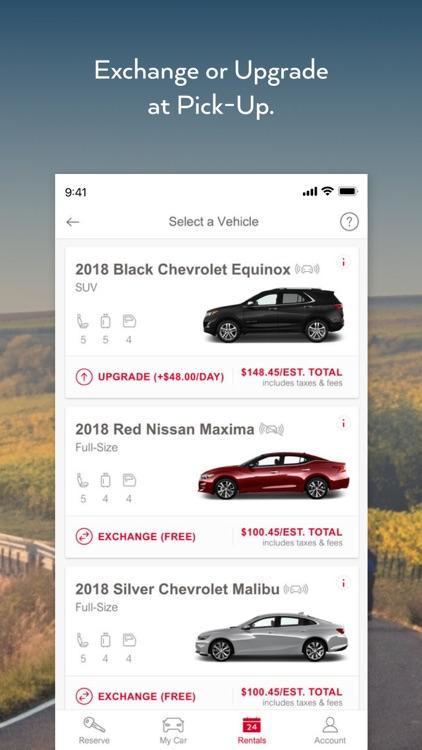 Avis - Car Rental screenshot-5