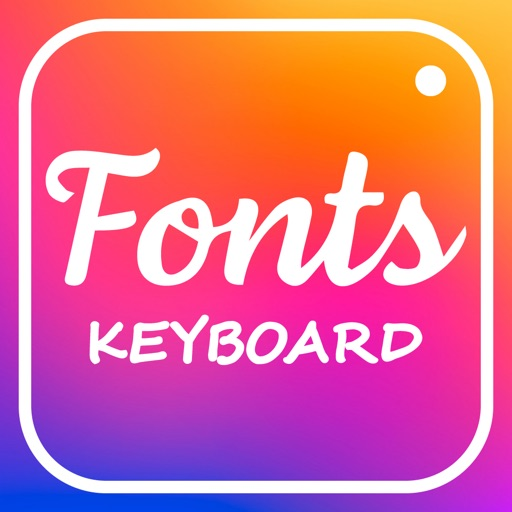 Fonts for instagram Keyboard +