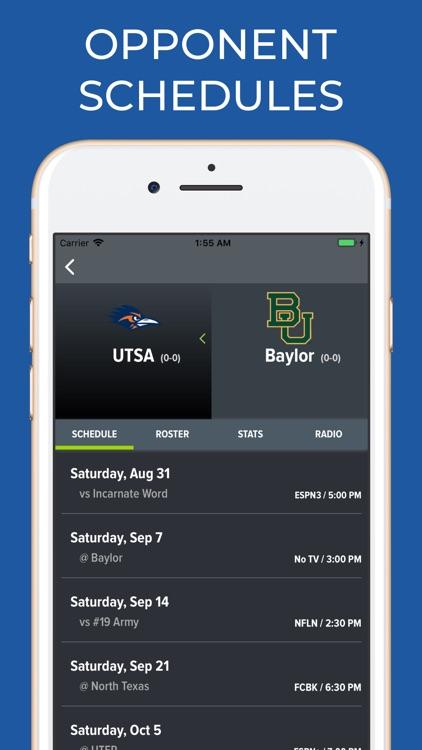 Baylor Football Schedules screenshot-5