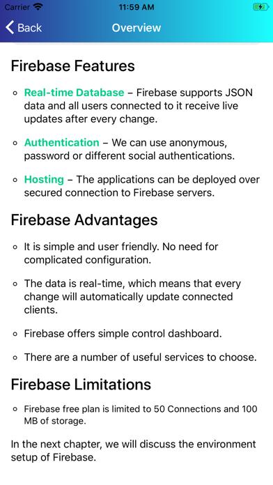 Learn Firebase [PRO] screenshot 5