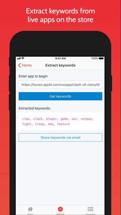 App Keyword Finder Tool Screenshots