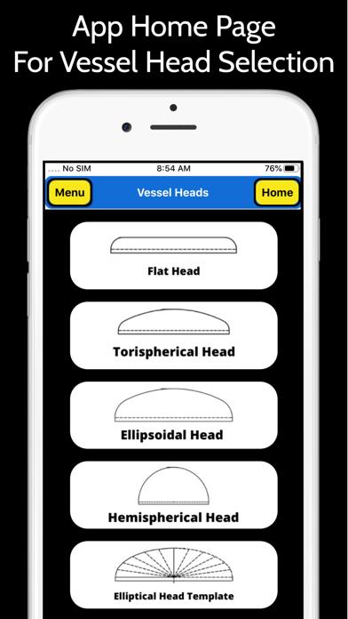 Pressure Vessel Heads screenshot 1
