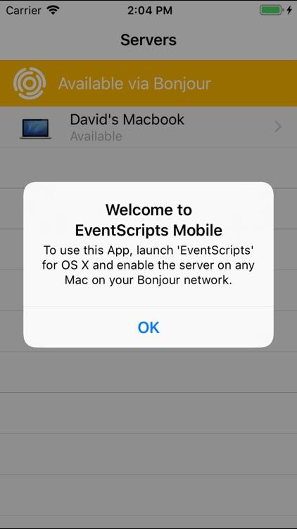 EventScripts Mobile