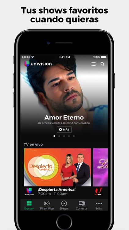 Univision App screenshot-0