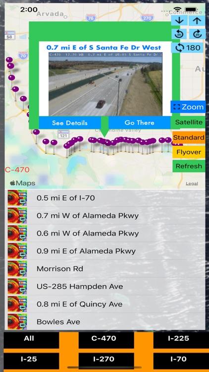 Traffic Cameras Colorado Pro screenshot-4