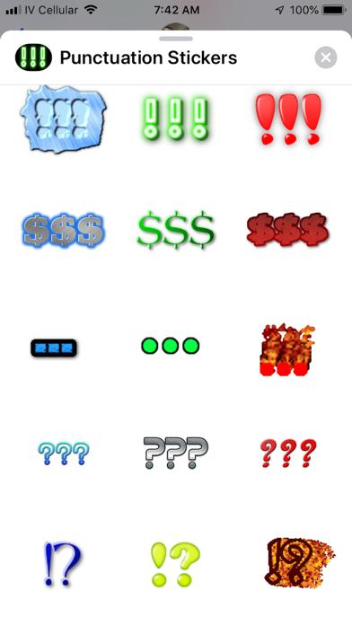 Punctuation Stickers app image