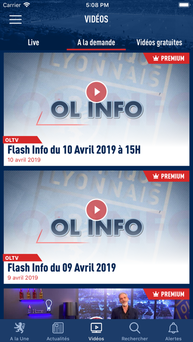 download Olympique Lyonnais apps 1