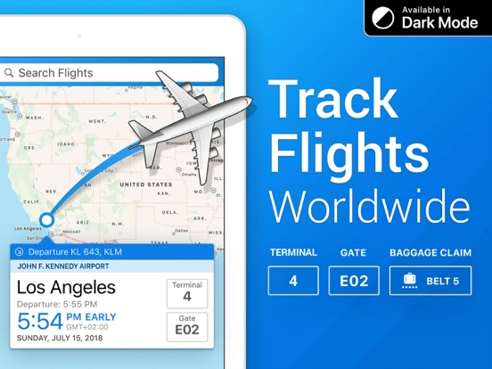 The Flight Tracker Pro Screenshots