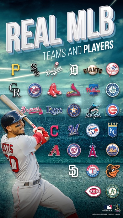 MLB Tap Sports Baseball 2019 app image