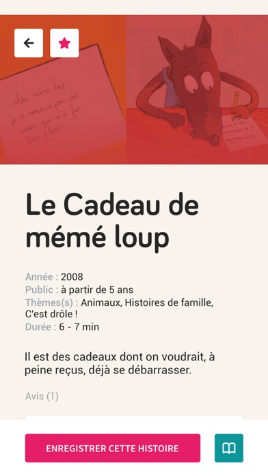 Screenshot for StoryEnjoy-Histoire à raconter in Singapore App Store