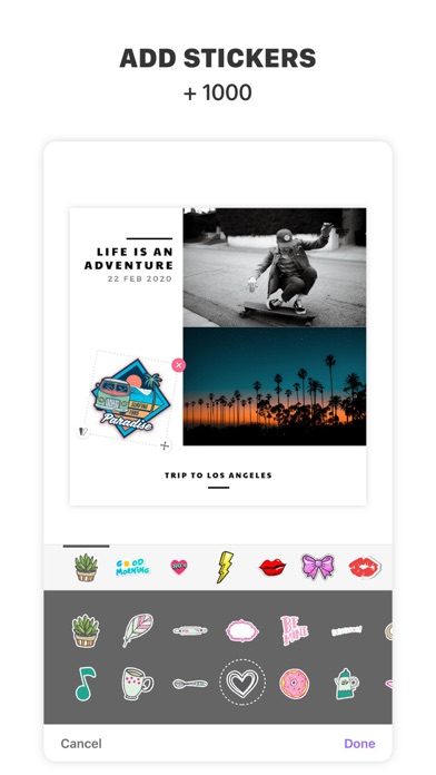 Photo Collage Maker ∙ Layoutのおすすめ画像3