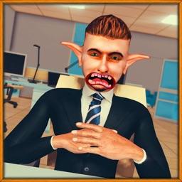 Boss in Scary Mod