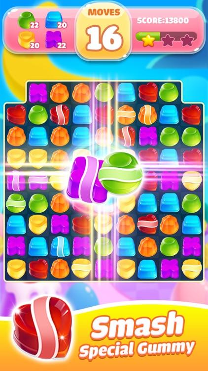 Jelly Jam Crush - Match 3 Game