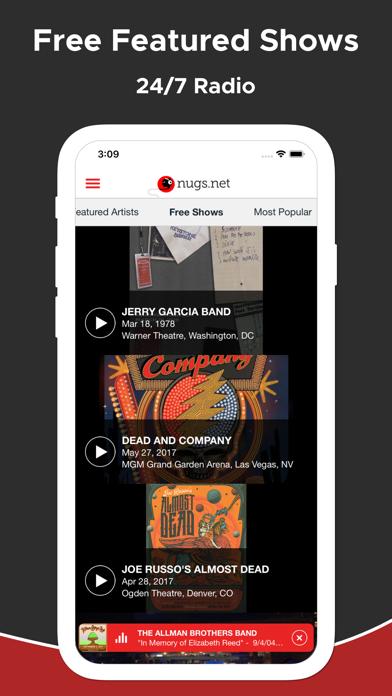 nugs.net app image