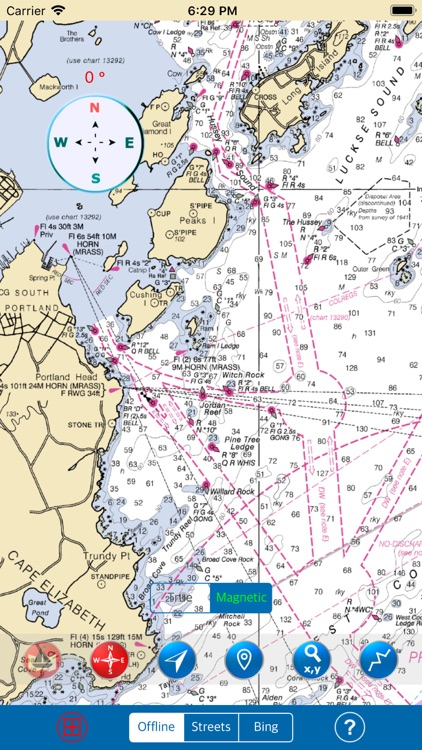 Maine – Nautical Charts Sea