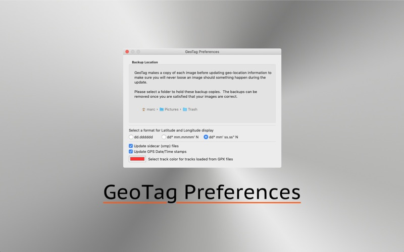 GeoTag for Mac