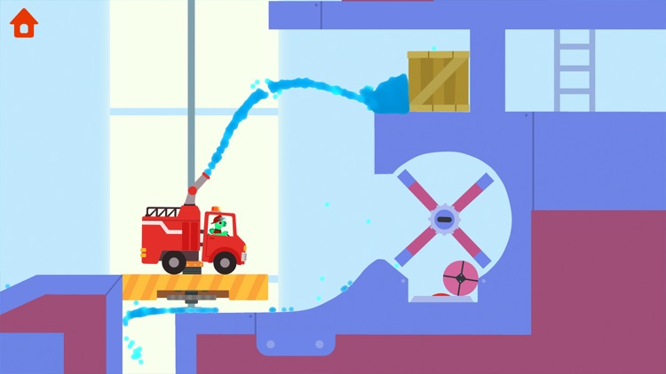 Dinosaur Fire Truck: Kids Game screenshot-5