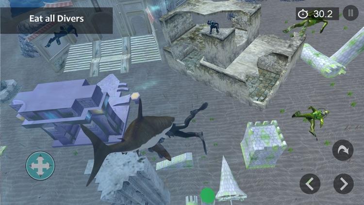 Angry Shark Attack Shark Games screenshot-4