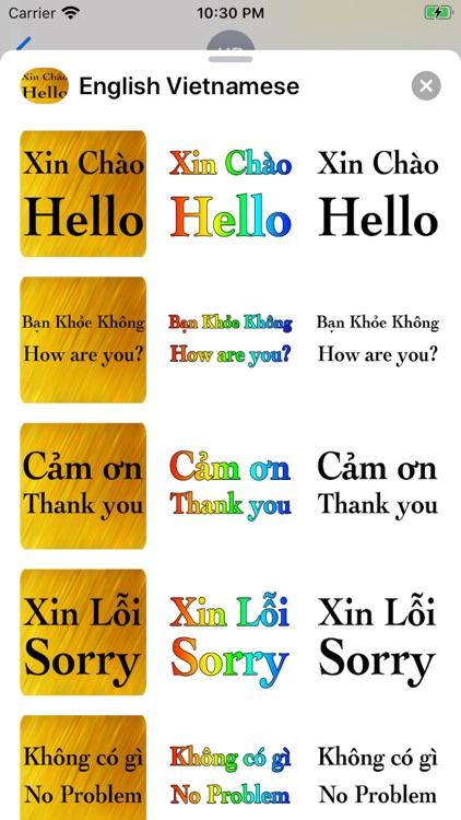 Vietnamese English screenshot-7