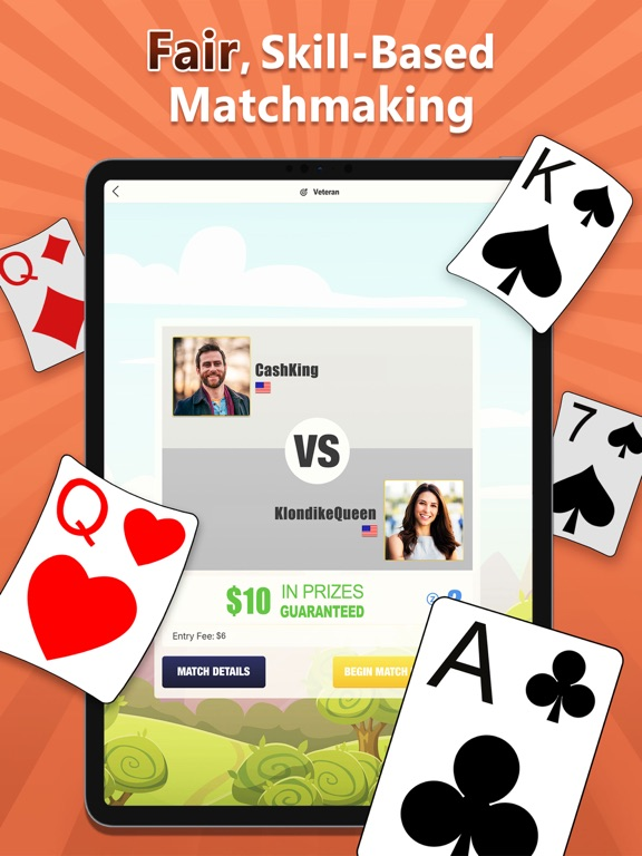 iPad Image of Solitaire Deluxe® Cash Prizes