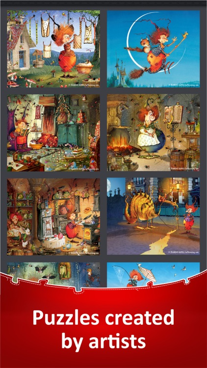 Jigsaw Puzzle Collection HD screenshot-5