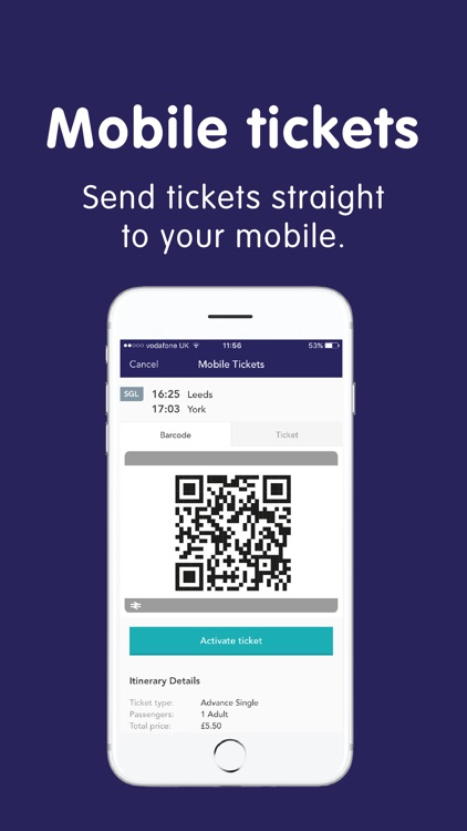 Northern train tickets & times