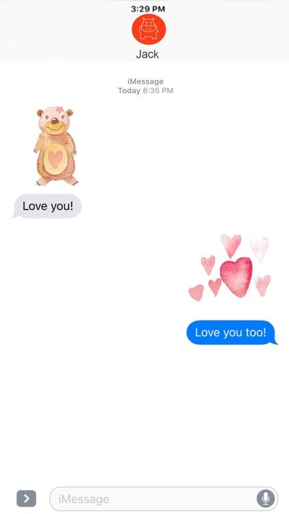 Sticker Valentine screenshot-3