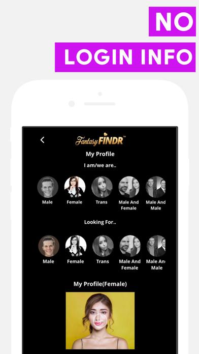 FantasyFINDR: Love Date & Chat Screenshots