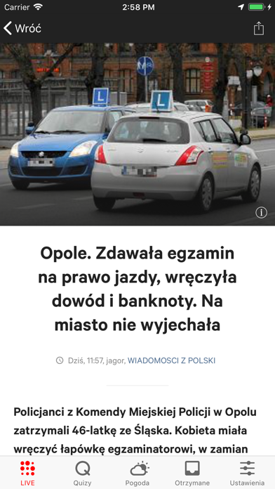 Gazeta.pl LIVE screenshot two
