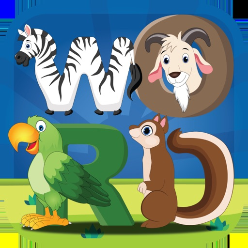 Animal Friends Word Puzzle