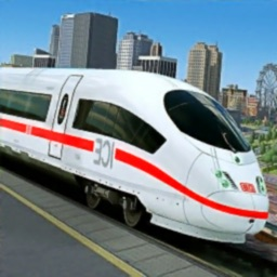 Modern Train Driver Simulator