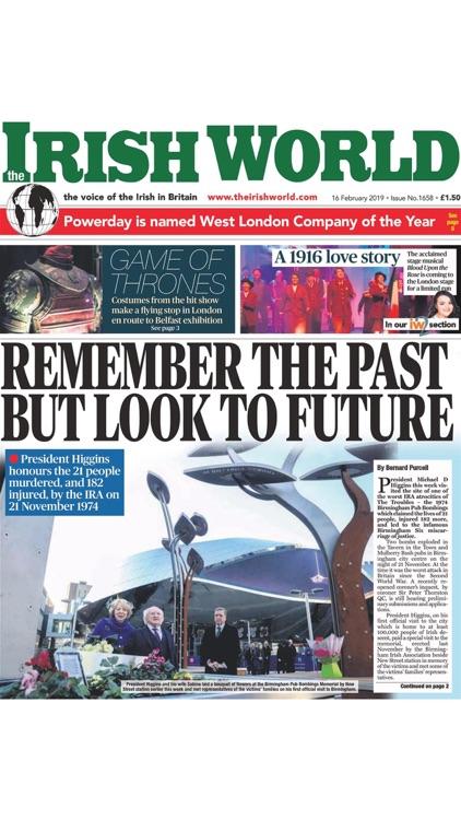 Irish World Newspaper screenshot-9