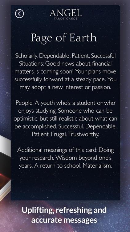 Angel Tarot Cards screenshot-4