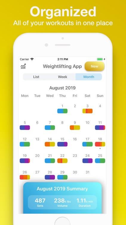 Weightlifting App screenshot-4